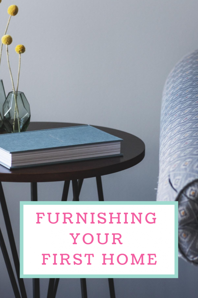 Furnishing your first home