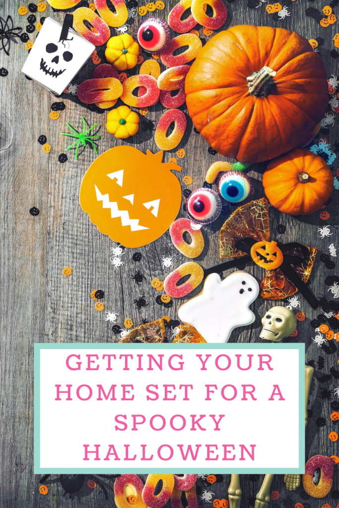 Getting your home set for a spooky Halloween
