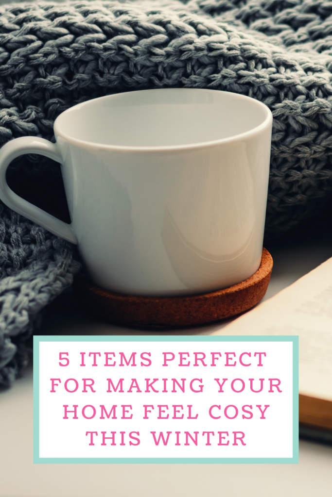 5 Items perfect for making your home feel cosy this winter