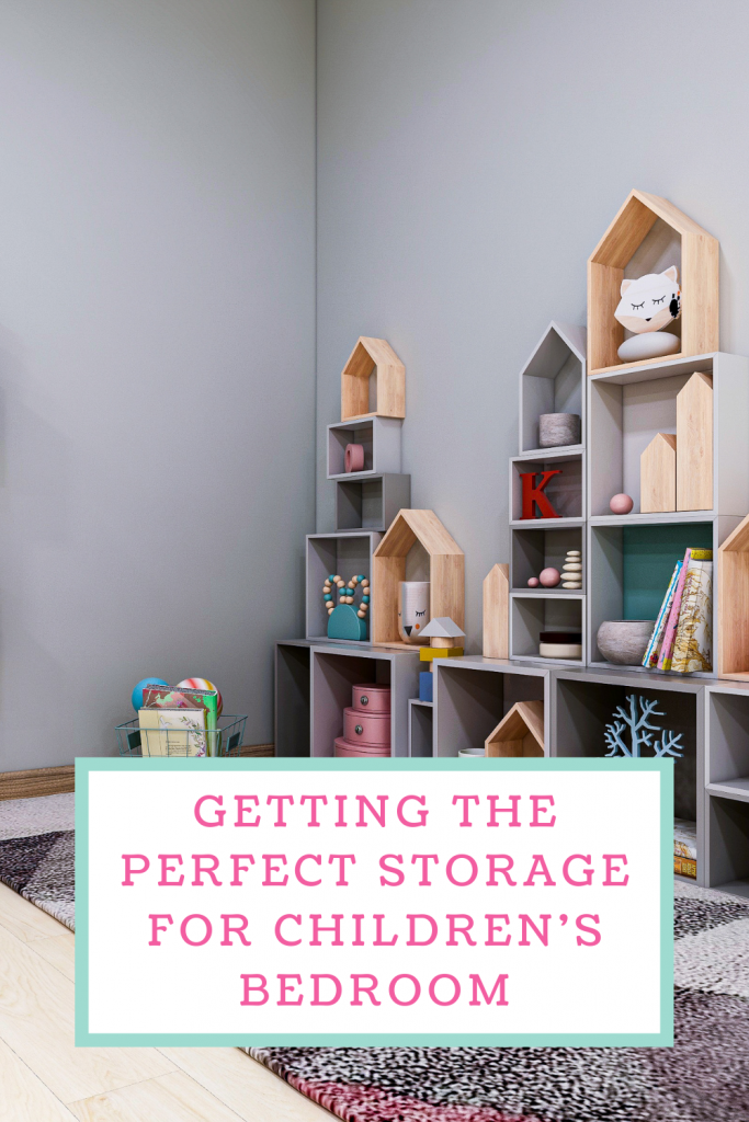 Getting the perfect storage for children's bedroom
