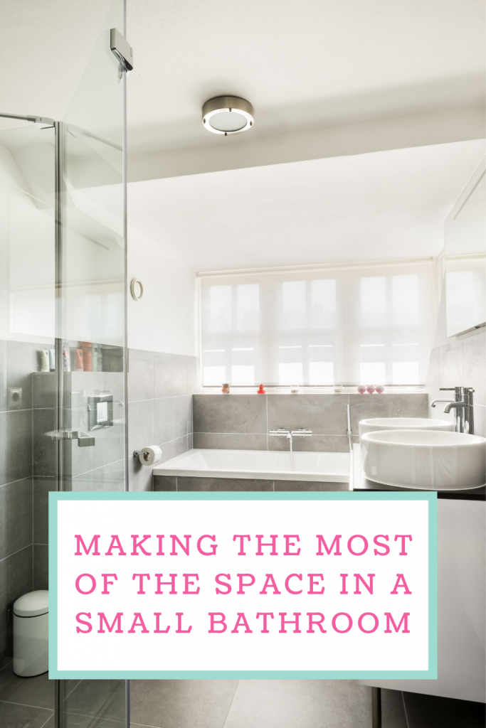 Making the most of the space in a small bathroom