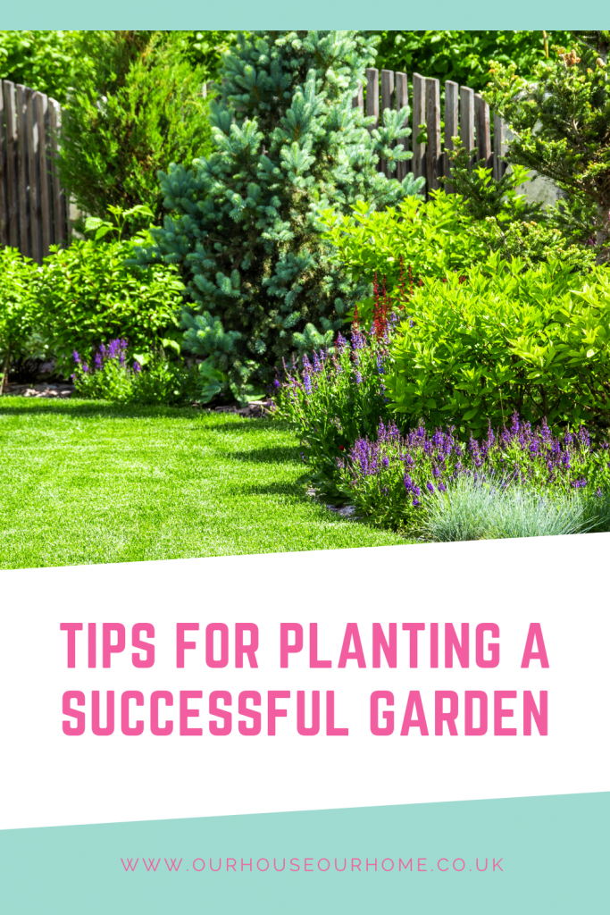 Tips for planting a successful garden