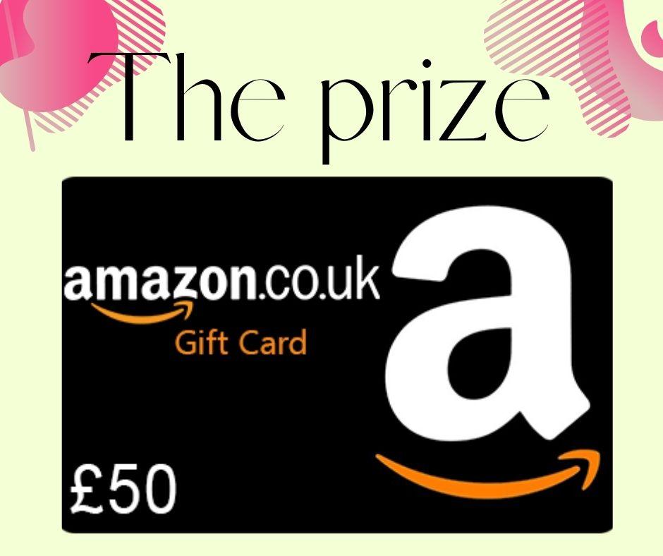 Giveaway - Win a £50 Amazon voucher