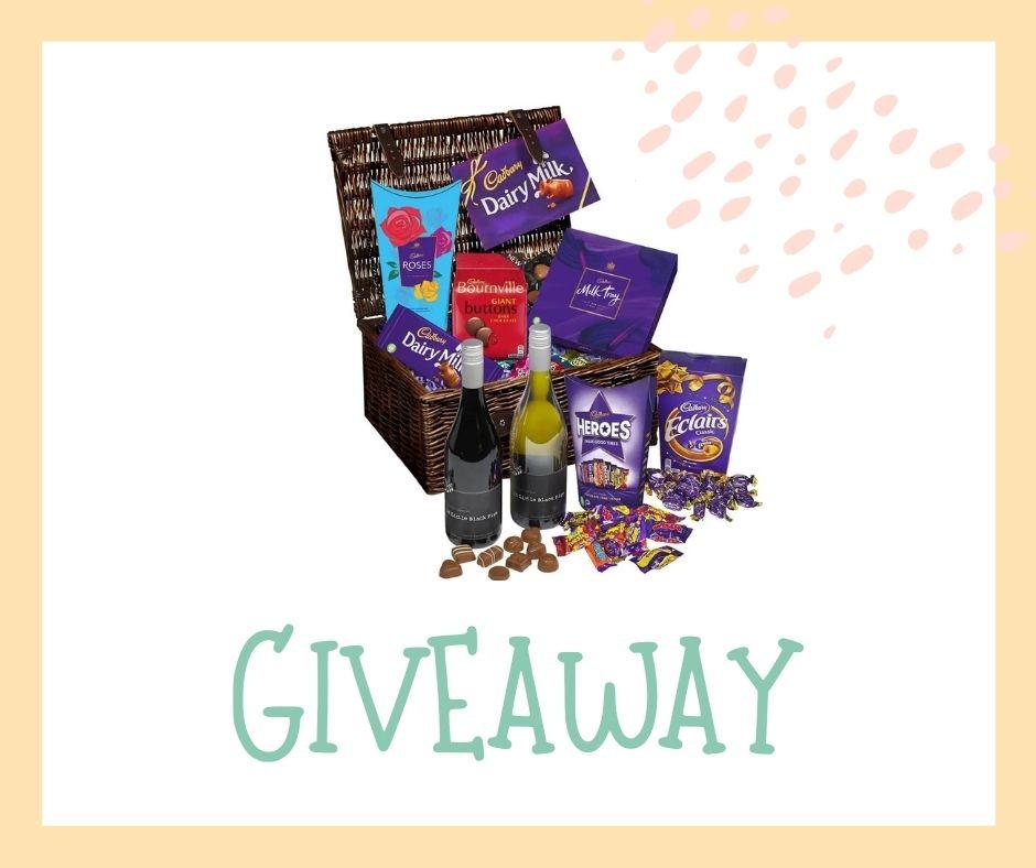 Win a fab Cadbury Chocolate and Wine Hamper